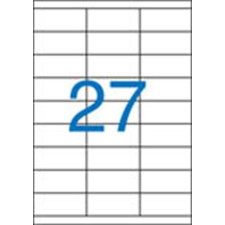 VICTORIA Etikett, univerzális, 70x30 mm, VICTORIA, 2700 etikett/csomag etikett