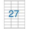 VICTORIA Etikett, univerzális, 70x30 mm, VICTORIA, 2700 etikett/csomag [100 lap]