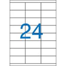 VICTORIA Etikett, univerzális, 70x36 mm, VICTORIA, 2400 etikett/csomag etikett