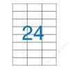 VICTORIA Etikett, univerzális, 70x37 mm, VICTORIA, 2400 etikett/csomag (LCV11369)