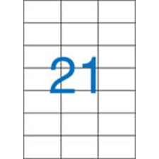 VICTORIA Etikett, univerzális, 70x42,4 mm, VICTORIA, 2100 etikett/csomag etikett