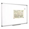 VICTORIA Fehértábla, mágneses, 90x180 cm, alumínium keret, VICTORIA