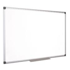 VICTORIA Fehértábla, mágneses, zománcozott, 100x150 cm, alumínium keret, VICTORIA mágnestábla