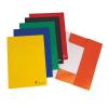 VICTORIA Gumis mappa, karton, A4, VICTORIA, narancssárga