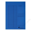 VICTORIA Gyorsfűző, karton, A4, VICTORIA, kék (IDPGY04)