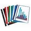 VICTORIA Gyorsfűző, lefűzhető, PP, A4, VICTORIA, piros