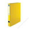 VICTORIA Gyűrűs dosszié, 2 gyűrű, 35 mm, A4, PP/karton, VICTORIA, sárga (IDVGY02)