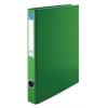 VICTORIA Gyűrűs könyv, 2 gyűrű, 35 mm, A4, PP/karton, , zöld
