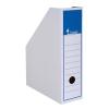 VICTORIA Iratpapucs, karton, 80 mm, , kék-fehér