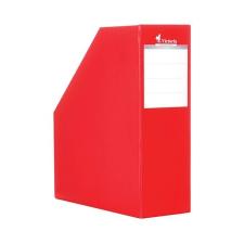 VICTORIA Iratpapucs, karton, 90 mm, VICTORIA, piros irattartó