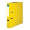 """VICTORIA Iratrendező, 50 mm, A4, PP/karton, élvédő sínnel, , """"Basic"""", sárga"""