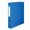 VICTORIA Iratrendező, 50 mm, A4, PP/karton, élvédő sínnel, VICTORIA, Basic, kék