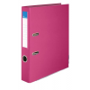 """VICTORIA Iratrendező, 50 mm, A4, PP/karton, élvédő sínnel, VICTORIA, """"Basic"""", rózsaszín"""
