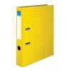 VICTORIA Iratrendező, 50 mm, A4, PP/karton, élvédő sínnel, VICTORIA, sárga