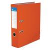 VICTORIA Iratrendező, 75 mm, A4, PP/karton, élvédő sínnel, VICTORIA, Basic, narancs (IDI75NA)