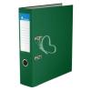 """VICTORIA Iratrendező, 75 mm, A4, PP/karton, élvédő sínnel, VICTORIA, """"Basic"""", zöld"""