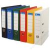 VICTORIA Iratrendező, 75 mm, A4, PP/PP, élvédő sínnel, VICTORIA, Premium, sárga (IDIP75S)