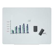VICTORIA Mágneses üvegtábla, 120x90cm, VICTORIA, fehér mágnestábla