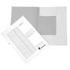 VICTORIA Pólyás dosszié, karton, A4, VICTORIA, fehér