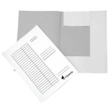 VICTORIA Pólyás dosszié, karton, A4, VICTORIA, fehér mappa