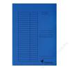 VICTORIA Pólyás dosszié, karton, A4, VICTORIA, kék (IDPI04)