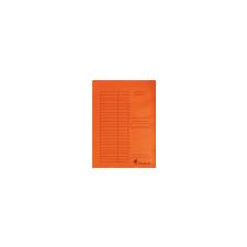 VICTORIA Pólyás dosszié, karton, A4, VICTORIA, narancs mappa