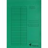 VICTORIA Pólyás dosszié, karton, A4, VICTORIA, zöld