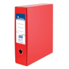 VICTORIA Tokos iratrendező, 75 mm, A4, karton, VICTORIA, piros