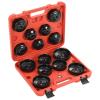 vidaXL 15 darabos kupakos olajszűrő-eltávolító készlet