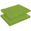 vidaXL 2 db pamut lepedő 240x260 cm alma zöld