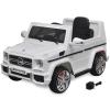 vidaXL 2 motoros Mercedes Benz G65 Ride-on SUV Elektromos kisautó fehér