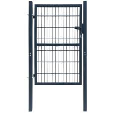 vidaXL 2D kerítés kapu 106 x 210 cm antracit zöld szín építőanyag