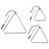 vidaXL 3 darabos rozsdamentes acél triangulumkészlet