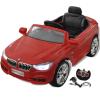 vidaXL BMW Akkumulátoros / Elektromos kisautó utó Távirányítós Piros
