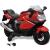vidaXL Elektromos BMW 283 gyerek motorkerékpár 6 V piros