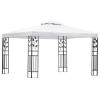 vidaXL fehér pavilon 3x4 m