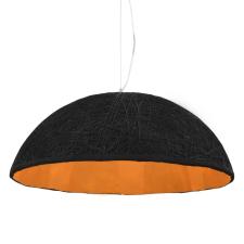 vidaXL fekete-arany függőlámpa Ø70 cm E27 világítás