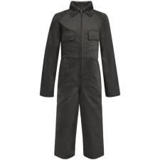 vidaXL Gyermek szerelőruha szürke 134/140-es méret munkaruha