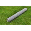 vidaXL Hatszögletű Drótkerítés 50 cm x 25 m Vastagság 0,75-mm es Horganyzott