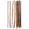 vidaXL impregnált mogyorófavessző kerítés 150 x 250 cm