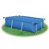 vidaXL Kék polietilén medencetakaró 400 x 200 cm