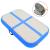 vidaXL Kék pvc felfújható tornamatrac pumpával 60 x 100 x 10 cm