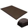 vidaXL Lapos négyzetes kutyaszőnyeg / kutyafekhely barna XL