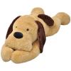 vidaXL ölelni való plüss kutya barna 80 cm