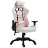vidaXL rózsaszín PU gamer szék