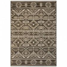 vidaXL Szizál hatású beltéri/kültéri szőnyeg 120 x 170 cm geometrikus lakástextília