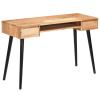 vidaXL tömör akácfa íróasztal 118 x 45 x 76 cm