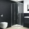 vidaXL vidaXL zuhanykabin biztonsági üveggel 80x70x185 cm