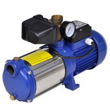 vidaXL Víz Szivattyú mérővel 1300 W 5100 L / Óra Kék öntözéstechnikai alkatrész