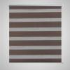vidaXL Zebra roló 50 x 100 cm Kávészínű